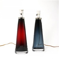 table lamps (pair) by carl fagerlund