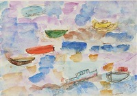 composition with boats by nejad devrim