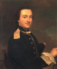 portrait of george, lord elibank, in a naval uniform by cosmo alexander