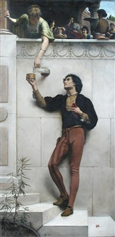 drink to me only with thine eyes by george percy r. e. jacomb-hood