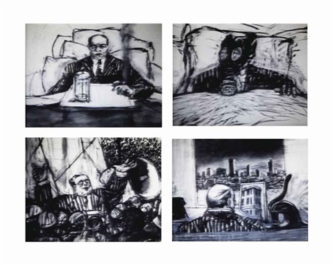 four soho eckstein films johannesburg second greatest city after paris monument mine sobriety obesity and growing old 4 works by william kentridge