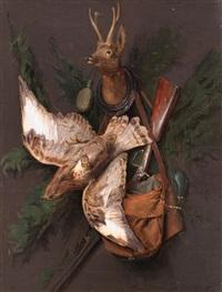 jagdstilleben by moritz mansfeld
