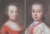 prinzessin johanna gabriela von österreich by michael christoph emanuel hagelgans