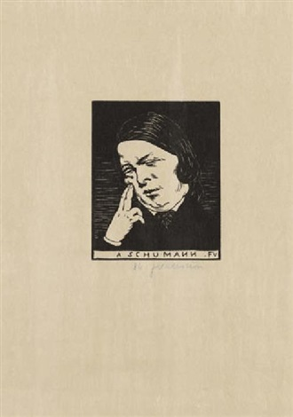 a schumann by félix edouard vallotton