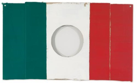 untitled from the flag series by gabriel orozco