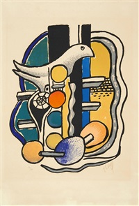la colombe by fernand léger
