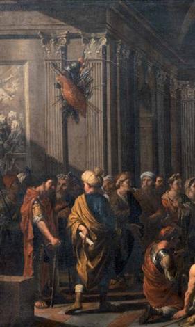 scena di sacrificio al tempio by johann heiss
