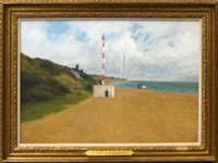 telecom on the beach by richard eurich