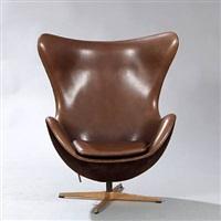 the golden egg easy chair (model 3316) by arne jacobsen