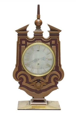 mantel clock for the marriage of col harvey to miss pritchard by edwin henry lutyens