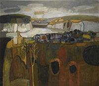 scottish landscape by william george gillies