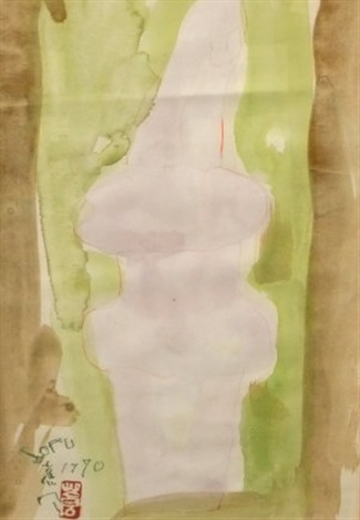 untitled (study for sculpture) by sofu teshigahara