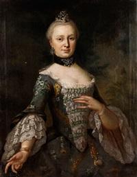 portraitbildnis einer hofdame by anonymous-german (18)