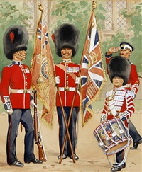 coldstream guards by richard simkin