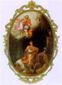 christus erscheint einem offizier by bartholomäus altomonte