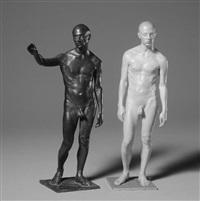 jim (+ jim/shadow, resin; 2 works) by evan penny