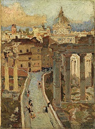 fori imperiali by fausto lemmi