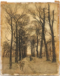 one of the paths..that have made themseleves by arthur rackham