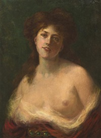 portrait of a lady by sydney percy kendrick