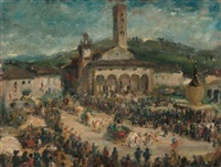 la festa dell'uva all'impruneta by ermanno toschi