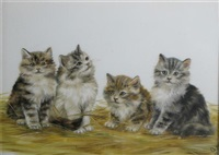 four kittens by bessie bamber