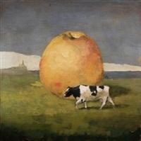 vaca manzana by miguel macaya