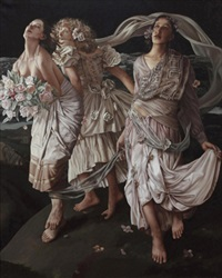 三女神 (three graces) by liu yi
