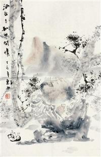 酒后方知世间情 (figure) by ren huizhong