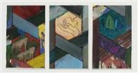 afrika (triptych) by horst gläsker