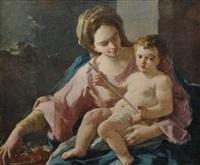 die madonna mit dem christusknaben by domenico mondo