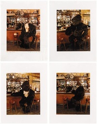 bar room suite (4 works) by angus fairhurst