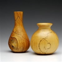 two vases by melvin lindquist