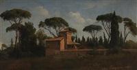 villa borghese by gustaf wilhelm palm