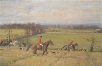 hunting in open country by john sanderson-wells