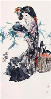 少女与鸽子 by lin yong