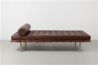 tagesbett barcelona by lilly reich and ludwig mies van der rohe
