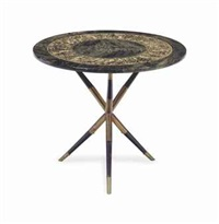 folding table by piero fornasetti