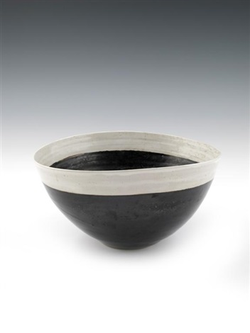 salad bowl by lucie rie