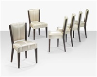 dining chairs (set of 6) by eugene printz