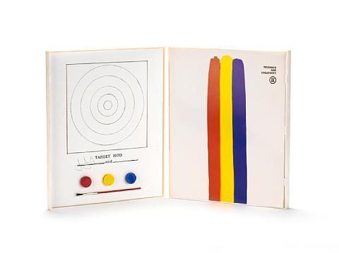target 1970 by jasper johns