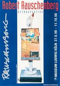retrospective museum ludwig by robert rauschenberg
