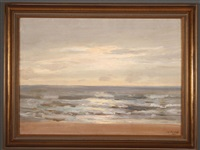 coastal landscape by john elwood bundy