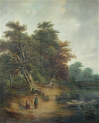 old bolton lane, ipswich, suffolk by robert burrows