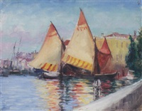 french harbor by anne gregory ritter