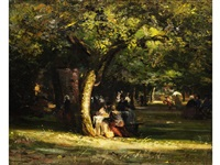picknick im park by emile renouf