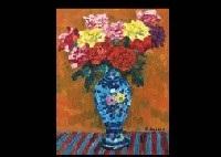 roses in the spanish pot by kenkichi kodera