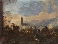 scena di battaglia by pandolfo reschi