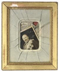 trompe l'oeil - william iii of the netherlands by nicole hustinx