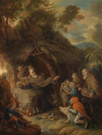 die versuchung des heiligen antonius by david ryckaert iii
