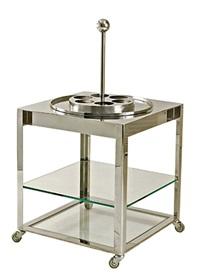 carrello keplero (+ bar portatile palmiro; set of 2) by sergio mazza and giuliana gramigna